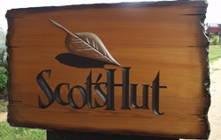 example of a rustic sign