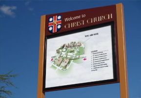 Christ Church Sign