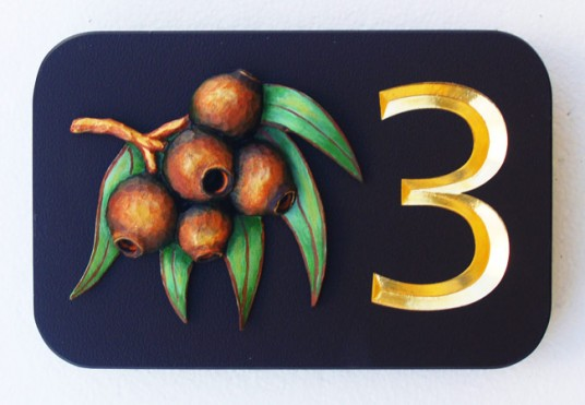 3 House Sign