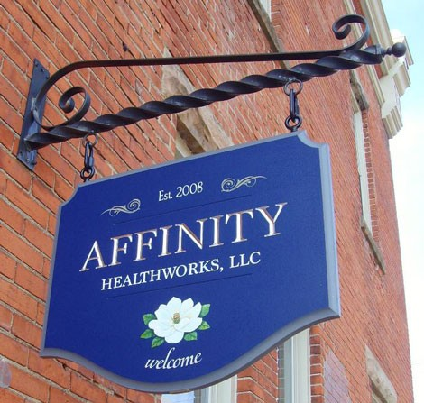 Affinity Medical Office Sign