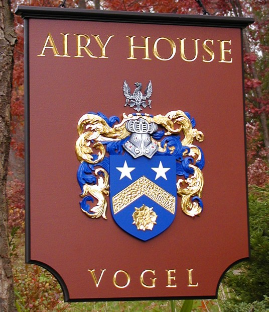 Airy House Coat of Arms