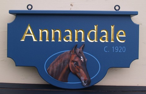 Annandale Property Sign