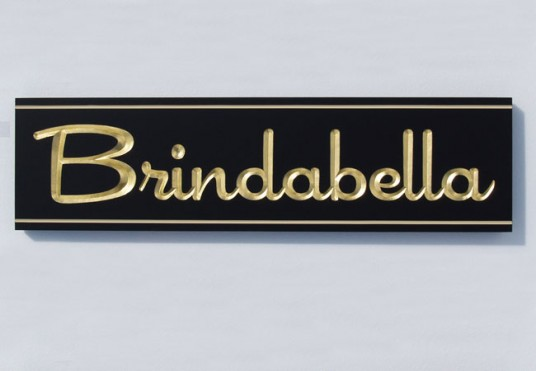 Brindabella House Sign