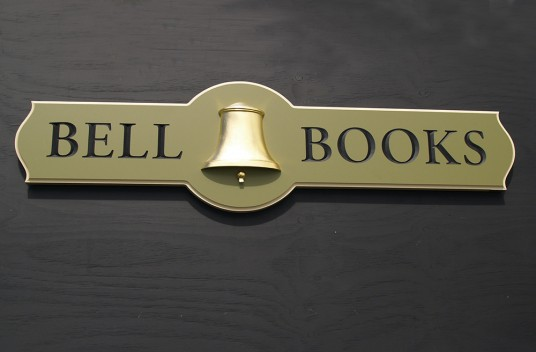 Bell Books Business Sign