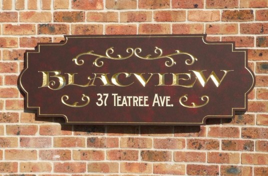 Blacview Property Sign