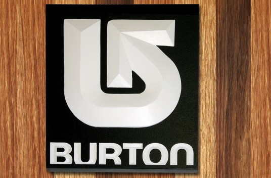 Burton Company Sign