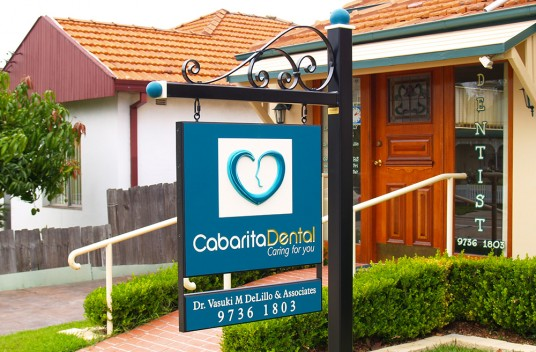 Cabarita Dental Office Sign