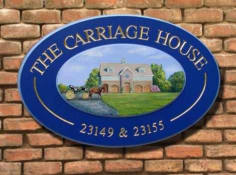 The Carriage House Property Sign