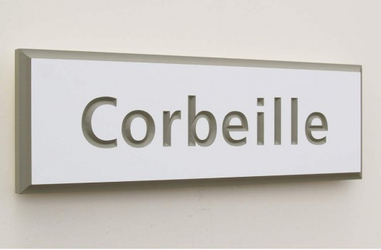 Corbeille House Sign