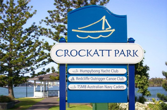Crockatt Park Main Sign