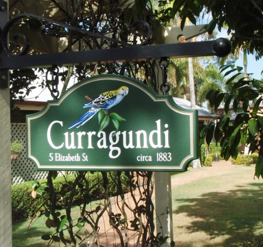 Curragundi Rural Property Sign On Site