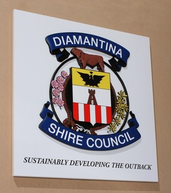 ThDiamantina Government Crest