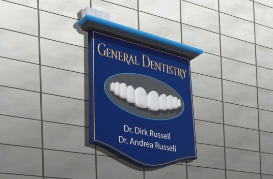 General Dentistry Sign