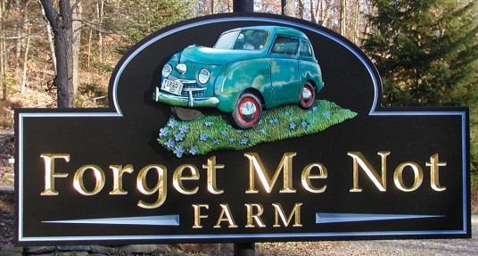 Forget Me Not Farm Sign