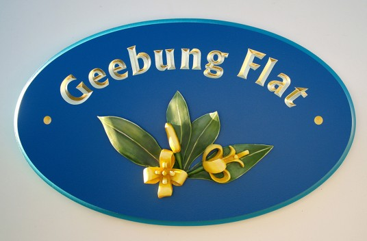 Geebung Flat House Sign