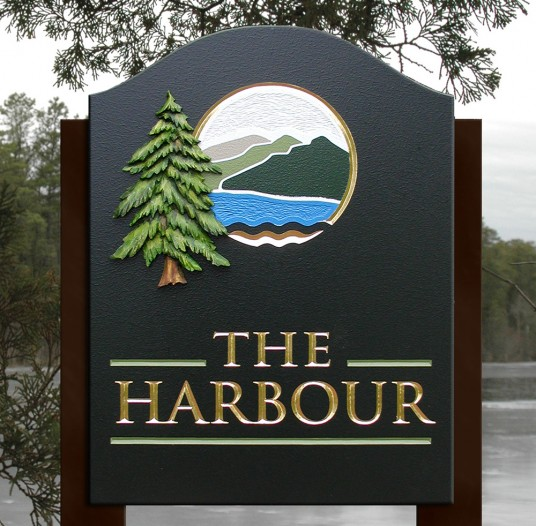 The Harbour Lake House Sign