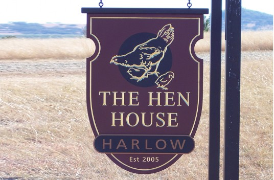 The Hen House Property Sign