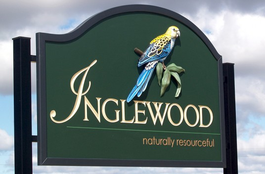 Inglewood Town Entrance Sign