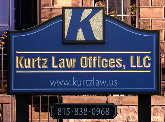 Kurtz Law Offices Sign