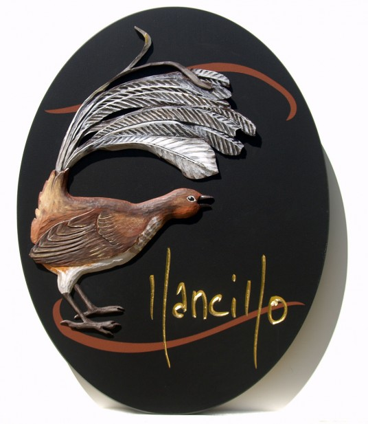 Llancillo Bird Sign