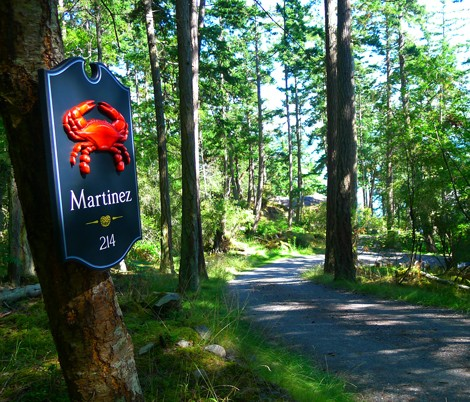 Martinez Property Sign