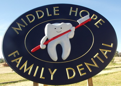 Middle Hope Dental Sign