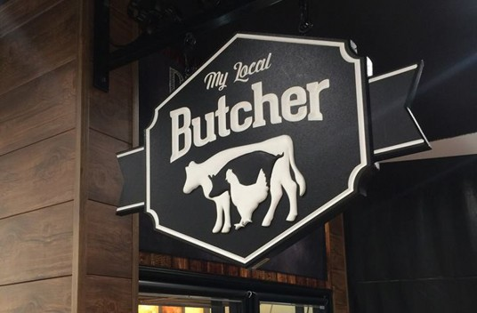 My Local Butcher Sign Danthonia Designs Usa