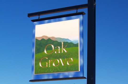Oak Grove Property Sign