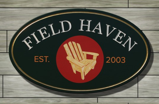 Field Haven House Sign | Danthonia Designs