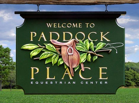 Paddock Place Horse Sign Thumbnail