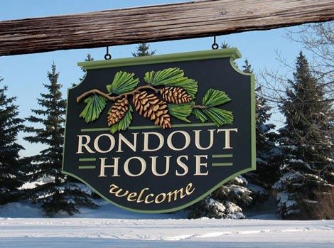 Rondout House Property Sign