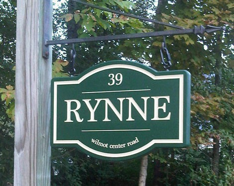 Rynne Property Sign | Danthonia Designs