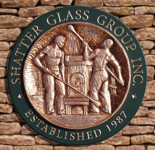 Shatter Glass Company Sign