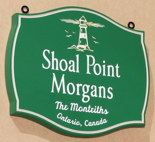 Shoal Point Morgans Horse Sign
