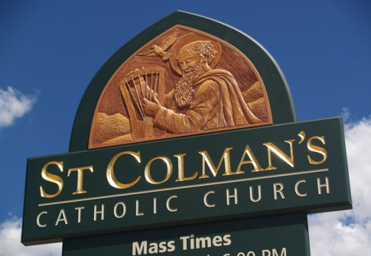 St Colmans Catholic Church Message Board