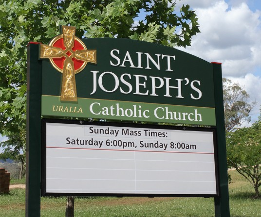 St. Joseph's Church Message Board