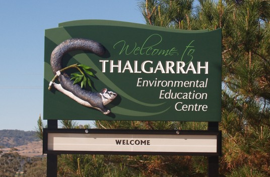 Thalgarrah Education Centre Sign