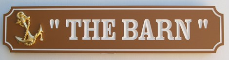 The Barn Property Sign