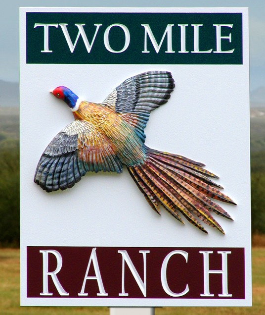 Two Mile Ranch Sign