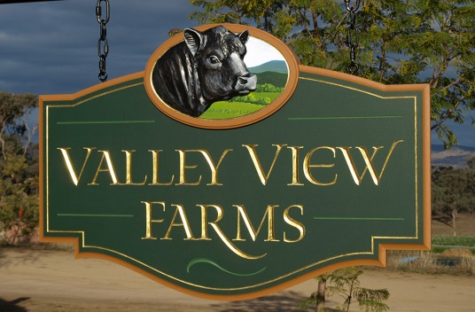 Valley View Farms Sign