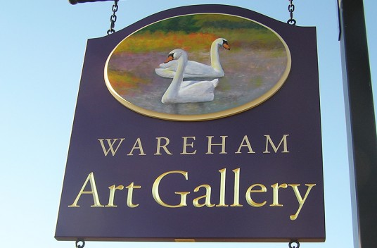 Wareham Art Gallery Retail Sign