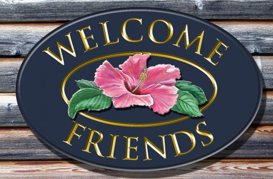 Welcome Friends Welcome Sign