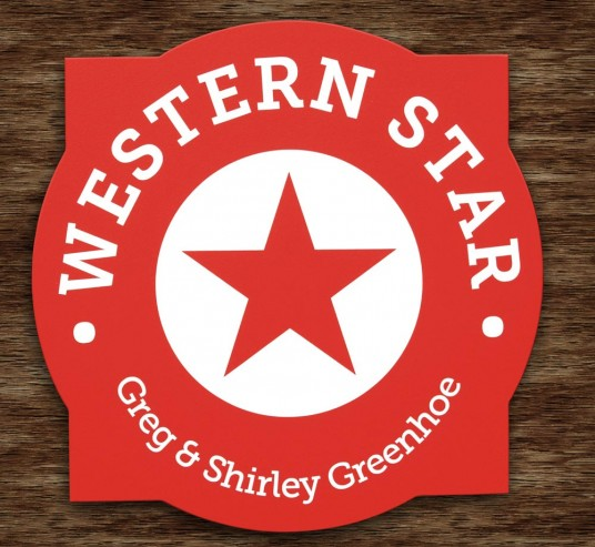 Western Star Property Sign | Danthonia Designs