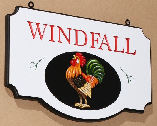 Windfall Farm Animal Sign