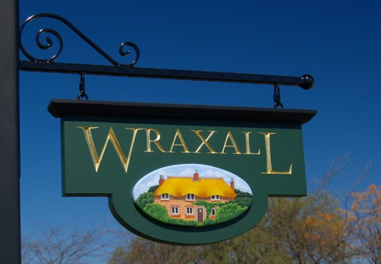 Wraxall Property Sign