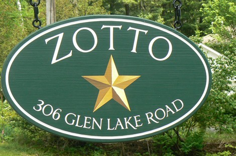 Zotto Property Sign