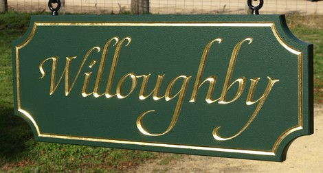 Willoughby Property Sign Danthonia Designs Usa