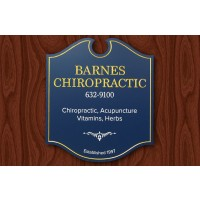 Barnes Chiropractic Business Sign - Danthonia Designs USA
