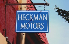 Heckman Motors Business Signs | Danthonia Designs