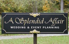 A Splendid Affair Small Business Sign